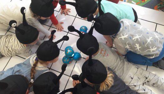 Roboty edukacyjne z wizytą u Chrząszczy!
